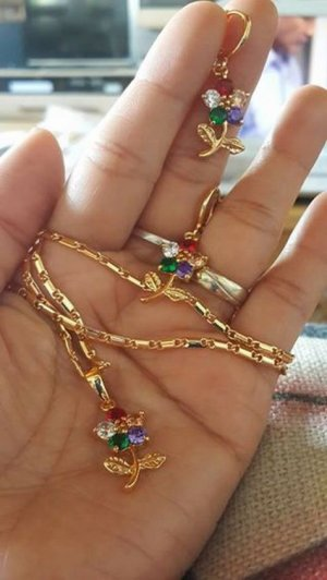 Bijoux multicolore