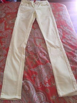 Zitronengelbe Skinny Jeans H&M 34