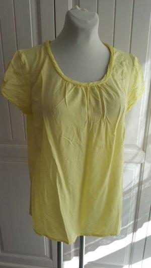 Zitronengelbes Blusen-Shirt von s.Oliver Casual, Gr. 40
