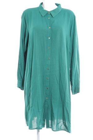 Zizzi Blusenkleid waldgrün Casual-Look