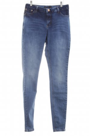 Zizzi Hoge taille jeans blauw casual uitstraling