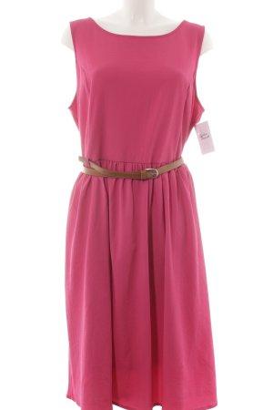 Zizzi Kurzarmkleid pink Romantik-Look