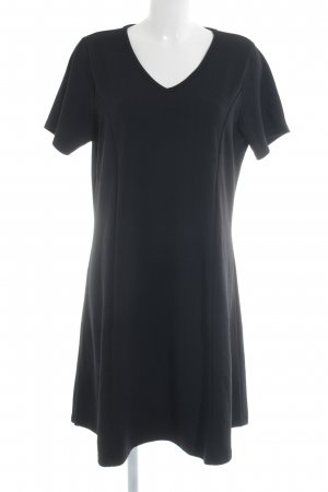 Zizzi Kurzarmkleid schwarz Elegant