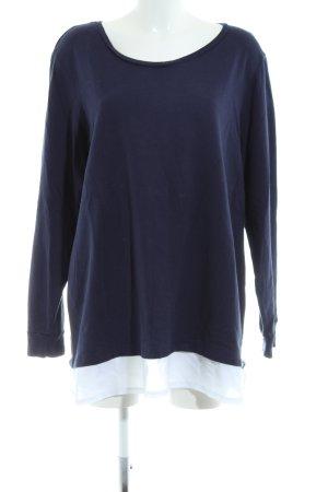Zizzi Longshirt blau Casual-Look