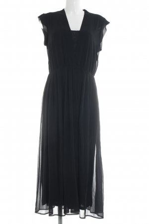 Zizzi Maxikleid schwarz Elegant