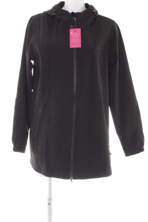 Zizzi Outdoorjacke schwarz Casual-Look