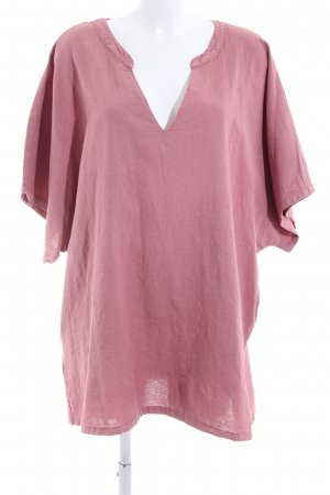 Zizzi Shirt Tunic pink casual look