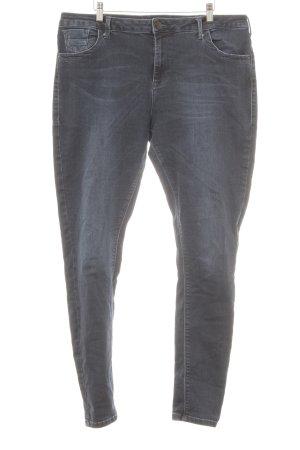 Zizzi Skinny Jeans dunkelblau Casual-Look