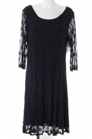 Zizzi Lace Dress dark blue elegant