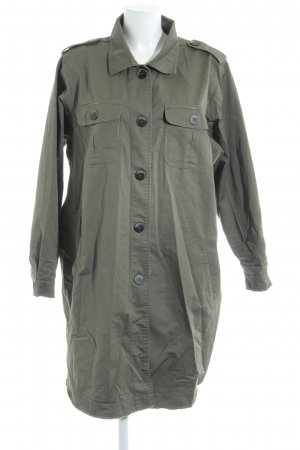 Zizzi Trenchcoat khaki Street-Fashion-Look
