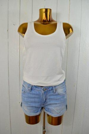 ZOE KARSSEN Damen Shorts Jeansshorts Mod.Zoe Short Blau Vintage Look Gr.27