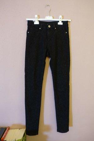 Zoe Karssen Jeans cigarette noir-gris anthracite tissu mixte