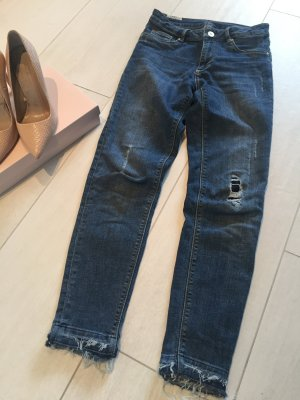 Zoe Karssen Jeans usedlook, Denim Blue Gr. 27