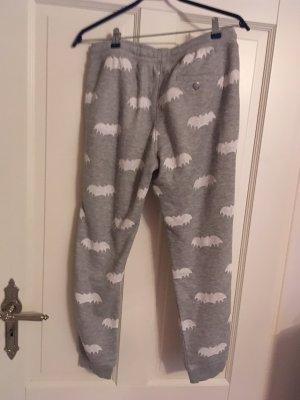 Zoe Karssen Sweat Pants light grey-white