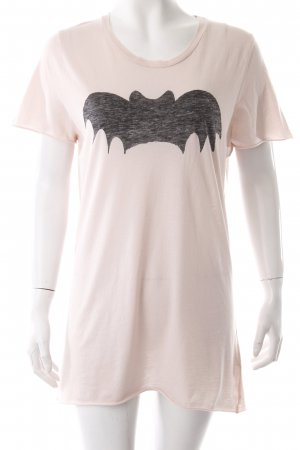 Zoe Karssen Longshirt Oversized Bat rosa