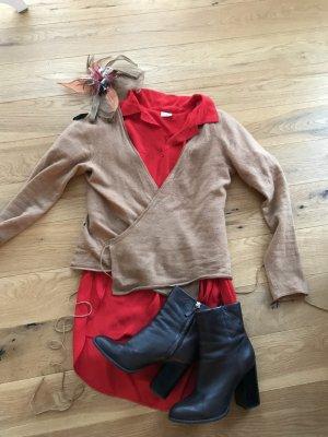 Jag of Zoeppritz Cache-cœur en tricot chameau