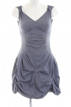 zone bleue Balloon Dress blue elegant