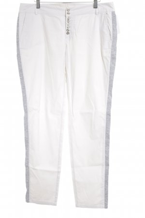 zoon Peg Top Trousers natural white-light grey college style