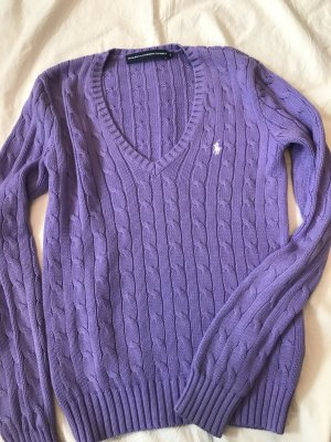 Ralph Lauren Cable Sweater purple