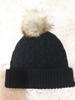 Asos Knitted Hat black