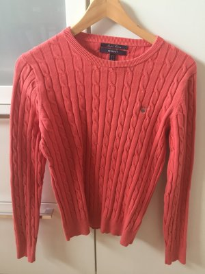 Gant Cable Sweater apricot