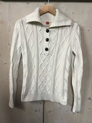 s.Oliver Cable Sweater natural white