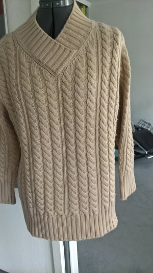 Cable Sweater beige