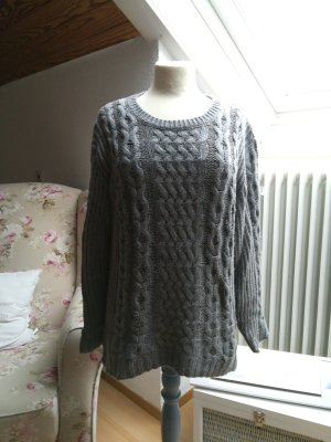 Esprit Cable Sweater light grey-grey