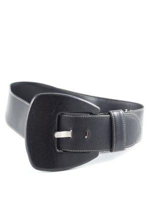 Zucchero Lederen riem zwart extravagante stijl