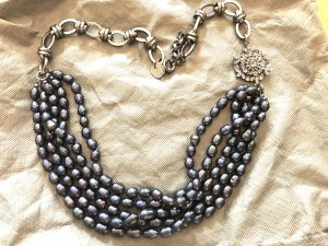 Collier Necklace dark blue