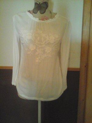 s.Oliver Camisa tipo túnica blanco