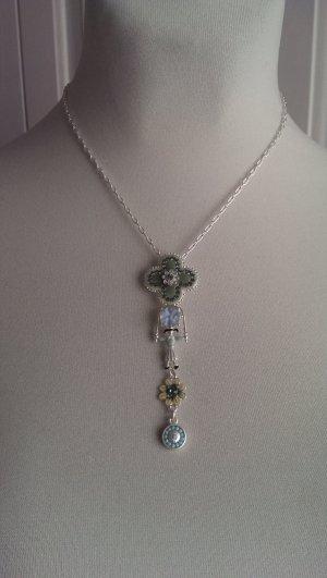 Zuckersüße Silber/Kristallkette von Pilgrim
