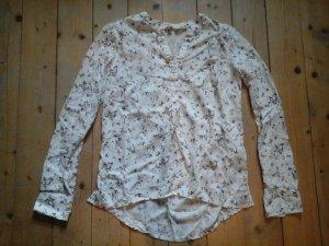 zuckersüsse Tunika Bluse Clockhouse Gr. 36 Creme weiß top