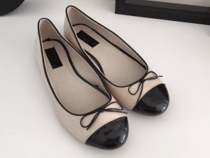 zuckersüße Zara Girl Ballerinas Schuhe Größe 35 Schleife Lack