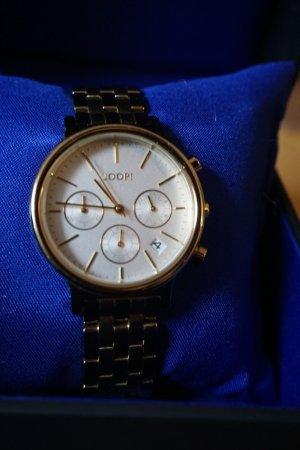 Zum Heranzoomen mit der Maus über das Bild fahren Designeruhr-Armbanduhr-JOOP-Chronograph-Carla-gebraucht-mit-OVP-gold  Designeruhr-Armbanduhr-JOOP-Chronograph-Carla-gebraucht-mit-OVP-gold  Designeruhr-Armbanduhr-JOOP-Chronograph-Carla-gebraucht-mit-OVP-g