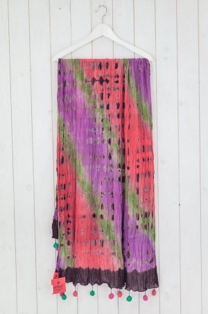 Erfurt Summer Scarf multicolored cotton