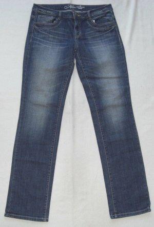Tom Tailor Denim Tube Jeans multicolored cotton