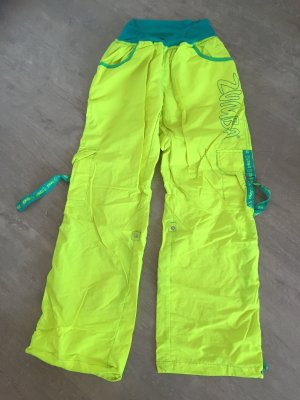 Zumba Fitness pantalonera amarillo neón