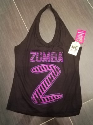 Zumba Neckholder, Instructor-Party-In-Da-Basement-Instructor-Halter-Top, NEU