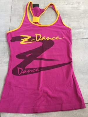 Zumba Shirt / Sportshirt in pink / orange