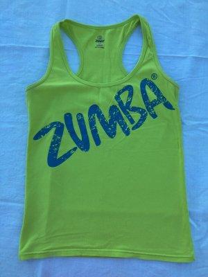 Zumba Fitness Sporttop petrol-weidegroen