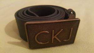 *Zustand NEU: Calvin Klein Gürtel Schwarz Gr. 90cm