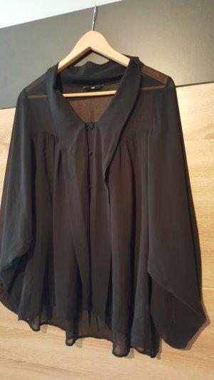 *Zustand NEU: Elegante H&M Schluppenbluse Schwarz Gr. 38
