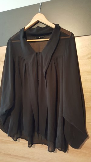 *Zustand NEU: H&M Bluse Schwarz Gr. 38