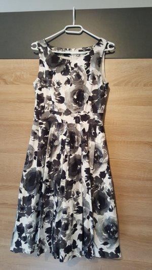 H&M Robe de soirée noir-blanc