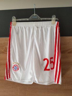 Adidas Sport Shorts white-brick red