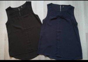 Only Blusa nero-blu scuro