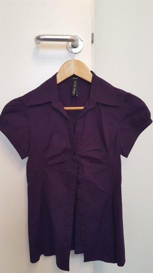 Zwei Blusen im Set lila & petrol