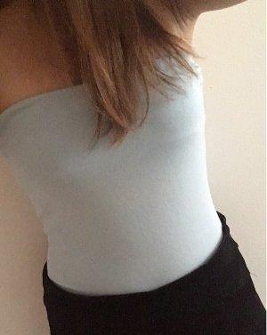 H&M Haut bandeau bleu clair-bleu foncé