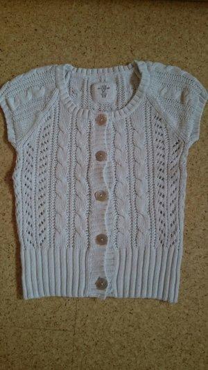 H&M L.O.G.G. Cardigan en crochet noir-beige coton